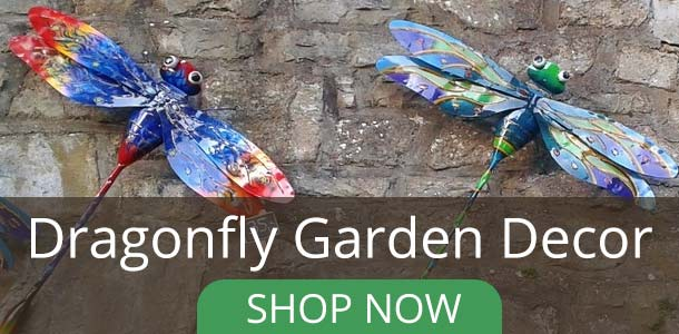 Dragonfly Garden Decor